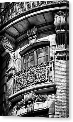 Ansonia Building Detail 43 Canvas Print by Val Black Russian Tourchin