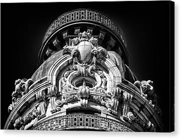 Ansonia Building Detail 47 Canvas Print by Val Black Russian Tourchin