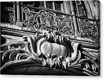 Ansonia Building Detail 5 Canvas Print by Val Black Russian Tourchin