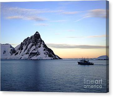 Antarctica Canvas Print by Karen Kean