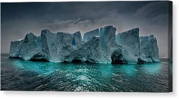 Antarctica Canvas Print by Michael Leggero