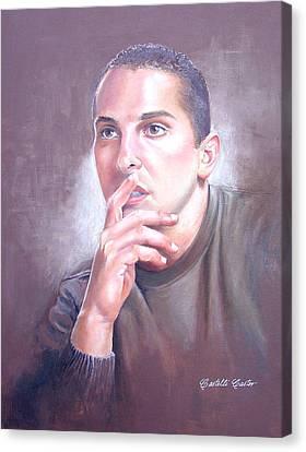 Anthony Frizano Canvas Print by JoAnne Castelli-Castor