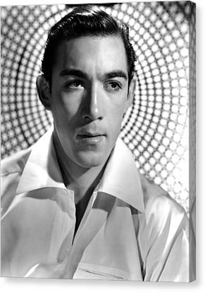 Anthony Quinn, Paramount Pictures, 1938 Canvas Print by Everett