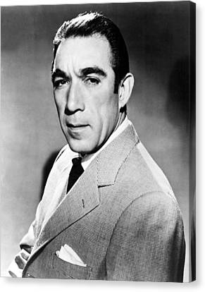 Anthony Quinn, United Artists Publicity Canvas Print by Everett
