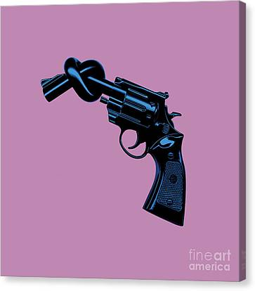 Anti Gun Canvas Print by Tim Bird