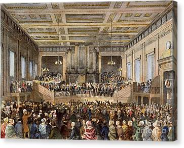 Anti-slavery Convention Canvas Print by Granger