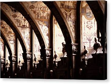 Antiquarian Hall The Residenz Munich Canvas Print
