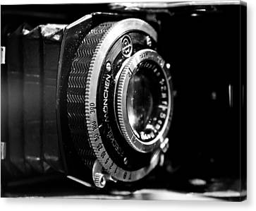 Antique Camera Canvas Print by Edward Myers