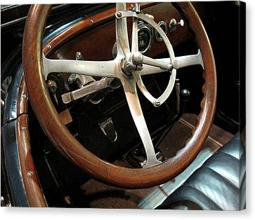 Antique Car Close-up 009 Canvas Print by Dorin Adrian Berbier