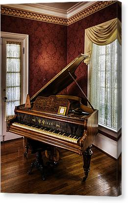 Antique Wein Grand Piano Canvas Print