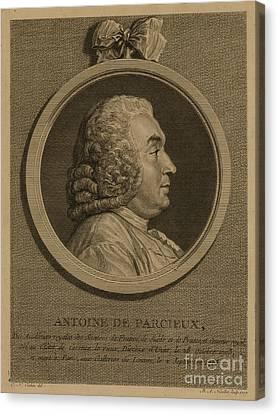 Antoine Deparcieux Canvas Print by Granger