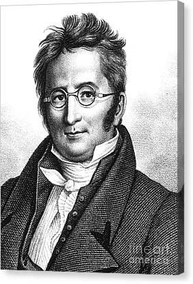 A.p. De Candolle, Swiss Botanist Canvas Print by Science Source
