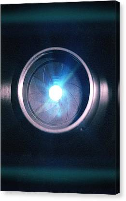Aperture Flare Canvas Print by Richard Kail