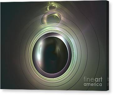 Aperture Canvas Print by Kim Sy Ok