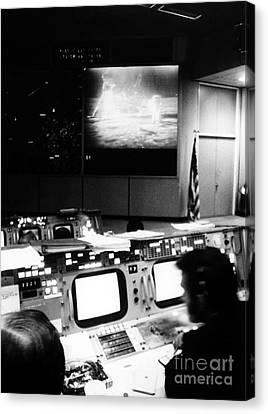 Apollo 11: Mission Control Canvas Print
