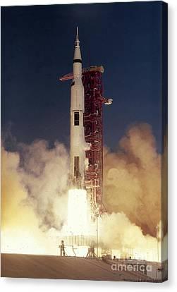 Apollo 8 Launch Canvas Print by Nasa