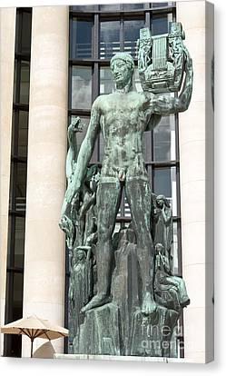 Apollo Leader Of The Muses Canvas Print by Fabrizio Ruggeri