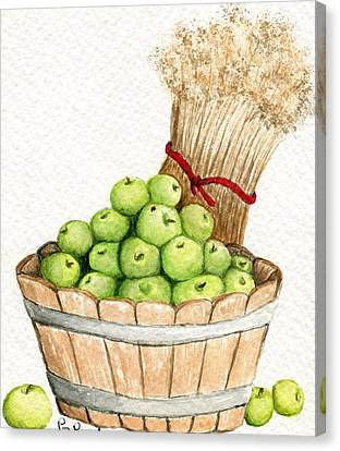 Apple Crate Canvas Print