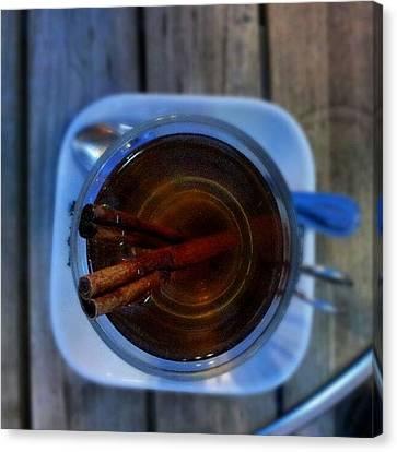 Ignation Canvas Print - #apple #juice #tea #coffee #cinamon by Abdelrahman Alawwad