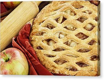 Apple Pie Canvas Print by Stephanie Frey