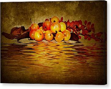 Apples Canvas Print by Svetlana Sewell