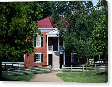 Appomattox County Court House 1 Canvas Print by Teresa Mucha