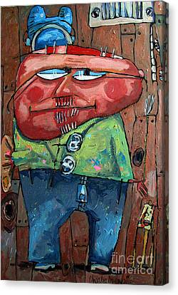Approaching Lumpiness Canvas Print by Charlie Spear