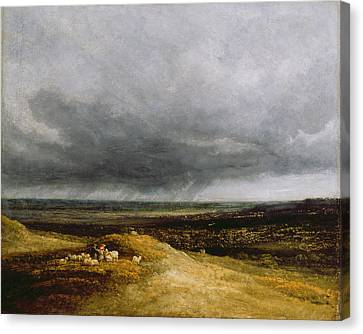 Approaching Storm Canvas Print by Georges Michael
