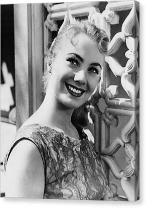 April Love, Shirley Jones, 1957 Canvas Print by Everett