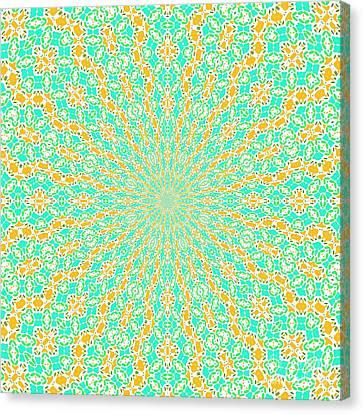 Aqua Soleil Canvas Print