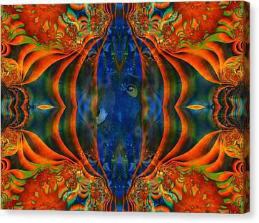 Aquarium Canvas Print by Connie Dye