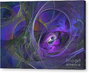 Aquarius 49 Canvas Print