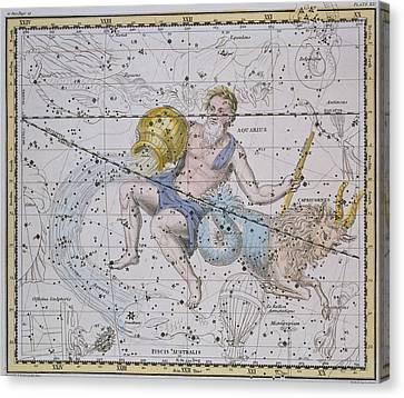 Aquarius And Capricorn Canvas Print