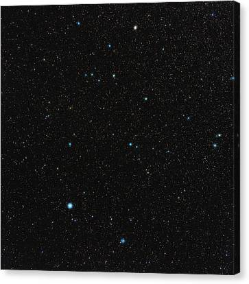 Aquarius Constellation Canvas Print by Eckhard Slawik