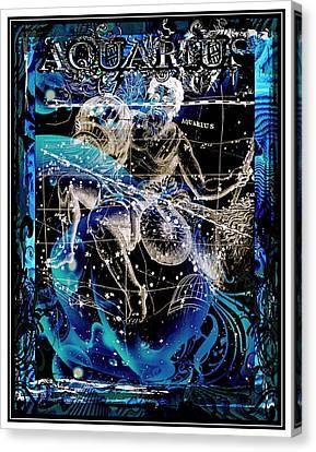 Aquarius Canvas Print by Janiece Senn