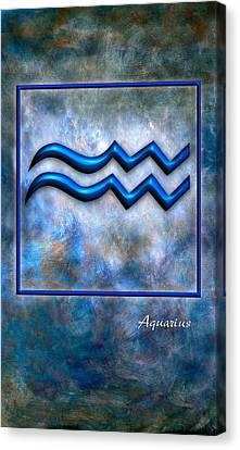 Aquarius  Canvas Print by Mauro Celotti