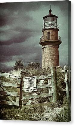 Canvas Print featuring the photograph Aquinah Light II Marthas Vineyard by Jack Torcello