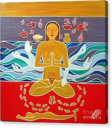Araadhna Canvas Print