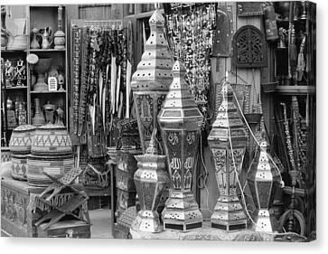 Arab Bazaar Canvas Print by Paul Cowan