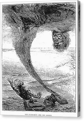 Arabian Nights, 1903 Canvas Print by Granger
