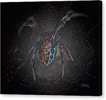 Arachnophobia Canvas Print by Patrick Witz