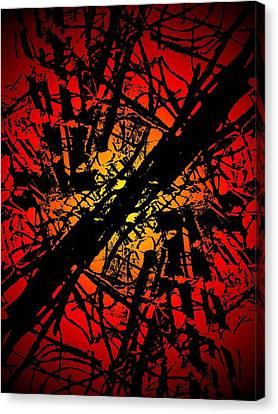 Arbor Sun Canvas Print