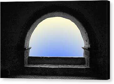 Canvas Print featuring the photograph Arcade by Emanuel Tanjala