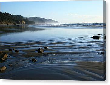 Arcadia Beach Canvas Print by Steven A Bash