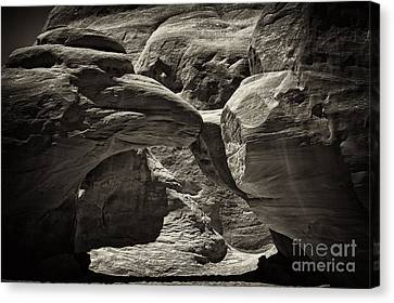 Canvas Print featuring the photograph Arch by Linda Constant