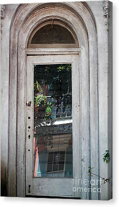 Arched Doorway French Quarter New Orleans Canvas Print by Shawn O'Brien