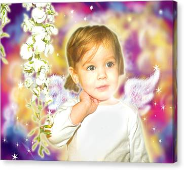 Archer.angelic 3 Canvas Print by Nada Meeks