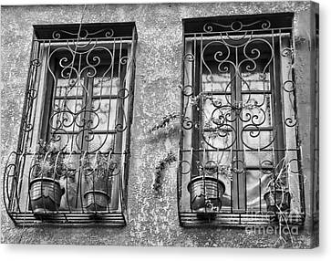 Architecture Bw I Canvas Print