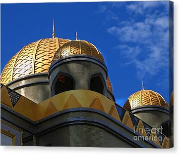 Architecture In Middle Eastern Style Canvas Print by Yali Shi