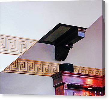 Canvas Print featuring the photograph Architecture  by Lizi Beard-Ward